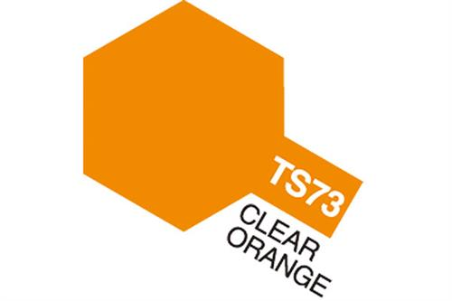 TS-73 Clear Orange, spray 100 ml - Tamiya